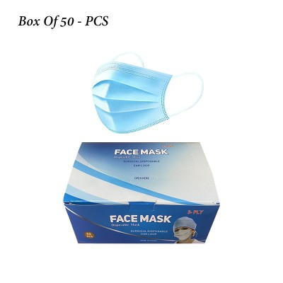 Face mask pack of 50