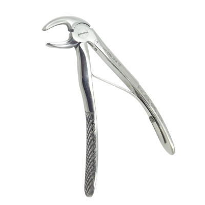 Pedriatric extraction forceps lower incisors & canines