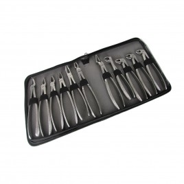 Extraction forceps kit of 11